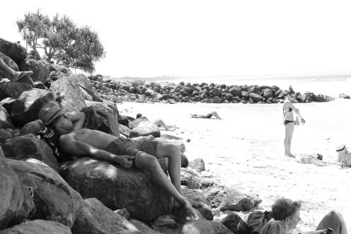 Stoned on Byron Rocks