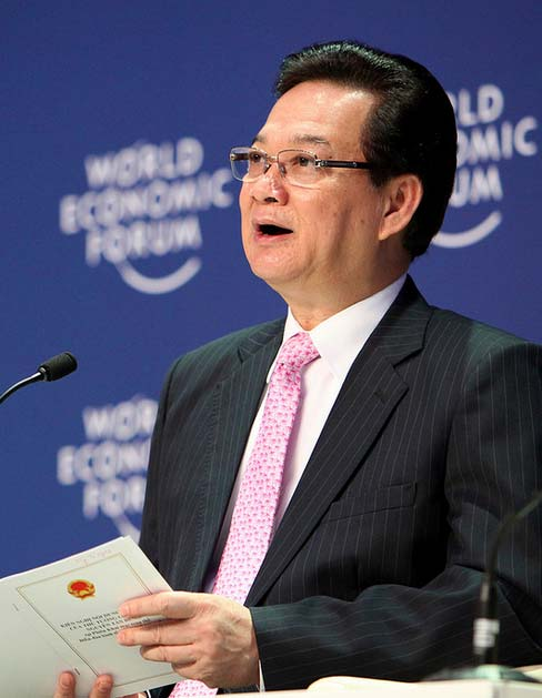 Prime Minister of Viet Nam Nguyen Tan Dung,© World Economic Forum / Creative Commons