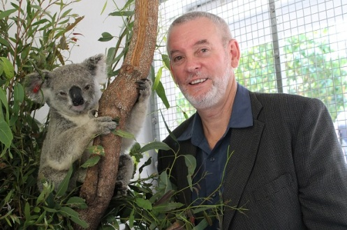 Chlamydia expert Peter Timms from USC says the vaccine helps prevent koalas with chlamydia from developing disease symptoms and protects uninfected koalas from infection