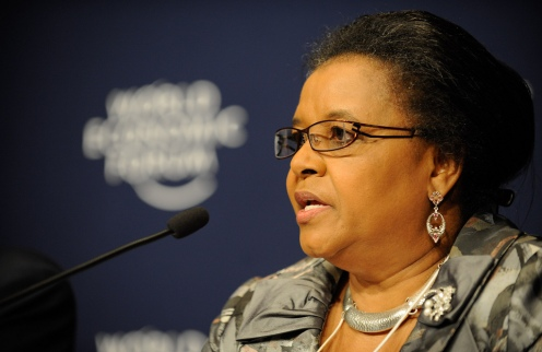 South Africa's Minister of Environmental Affairs Edna Molewa