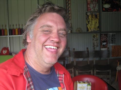John McKeering aka Mad Macka (courtesy of https://mozartandcoltrane.wordpress.com. Photo by Mic Smith